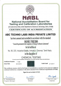 NABL accredited labs in Chennai